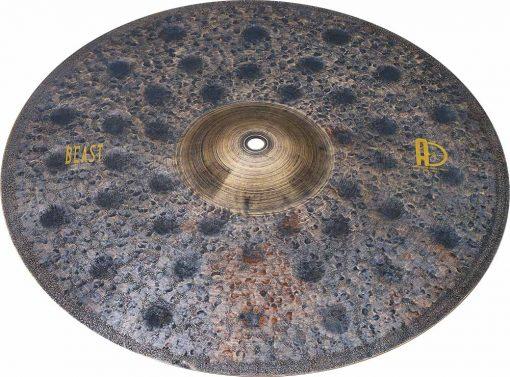 "Agean Beast drum crash cymbals 3 510x377 - AGEAN Cymbals 20"" Beast Crash"