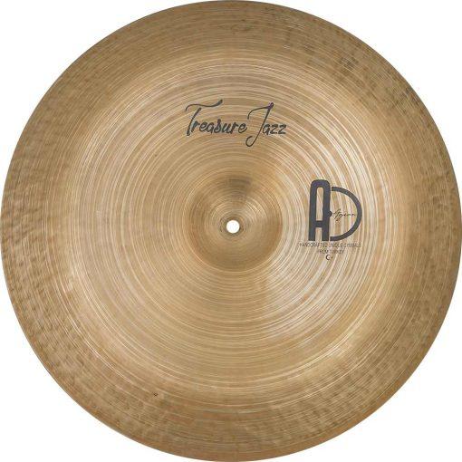 "Best Cymbals Company Treasure Jazz China cymbal 4 510x510 - AGEAN Cymbals 14"" Treasure China"