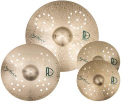 "Best Drum Pack Syphax Set 247x210 - Agean Cymbals SYPHAX SET - 20"" Ride, 16"" Crash, 14"" Hi-Hat"