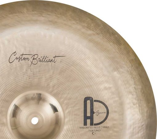 "Chine Cymbals Custom Brilliant China 4 510x452 - AGEAN Cymbals 12"" Custom Brilliant China"