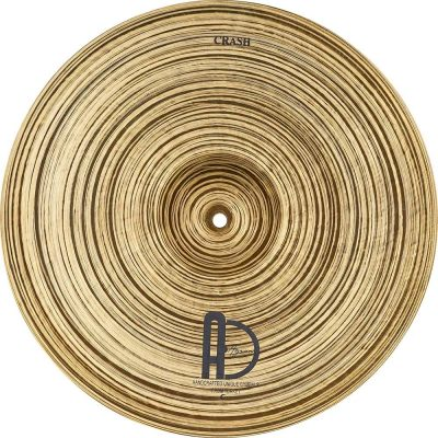 "Crash Cymbal Treasure Jazz Crash 4 400x400 - AGEAN Cymbals  20"" Z Crash"