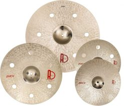 "Cymbal Set Brx Set 247x210 - AGEAN Cymbals BRX SET - 20"" Ride, 16"" Crash, 14"" Hi-Hat"