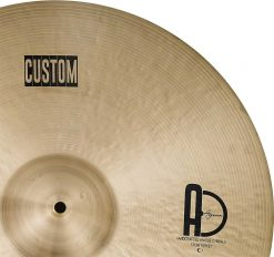 "Drum Cymbal Custom Ride Cymbal 4 247x232 - AGEAN Cymbals 18"" Custom Ride"