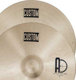 """Hi Hat Cymbals Custom 1 247x258 - AGEAN Cymbals 12"""" Custom Hi-Hat"""