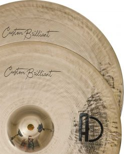 "Hi Hat Turkish Cymbals Custom brillant hihat 2 247x307 - AGEAN Cymbals 12"" Custom Brilliant Hi-Hat"