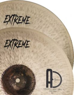 "Hi hat cymbals Extreme Hi Hat Turkish Cymbals 5 247x315 - AGEAN Cymbals 12"" Extreme Hi-Hat"