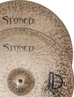 """Hi hat cymbals stoned Hi Hat 3 247x323 - AGEAN Cymbals 12"""" Stoned Hi-Hat"""
