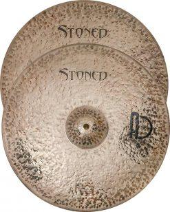 """Hi hat cymbals stoned Hi Hat 4 247x308 - AGEAN Cymbals 12"""" Stoned Hi-Hat"""