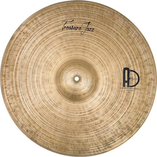 "Ride Cymbals Treasure Jazz Ride 3 510x508 - AGEAN Cymbals 20"" Treasure Ride"