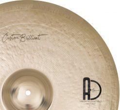 """Ride Cymbals custom brillant Ride Cymbals 2 247x226 - AGEAN Cymbals 18"""" Custom Brilliant Ride"""