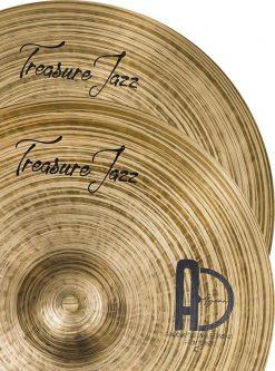 """Treasure Jazz Cymbals Hi hat 4 247x333 - AGEAN Cymbals 12"""" Treasure Hi-Hat"""