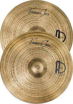 "Treasure Jazz cymbals Hi hat 247x351 - Agean Cymbals TREASURE SET - 20"" Ride, 16"" Crash, 14"" Hi-Hat"