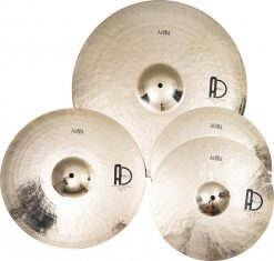 "Turkihs Cymbals Set Agora Set 247x235 - Agean Cymbals AGORA SET - 20"" Ride, 16"" Crash, 14"" Hi-Hat"