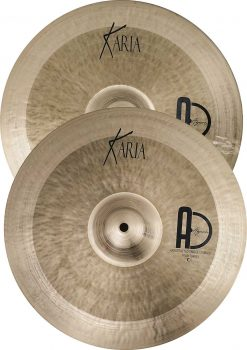 "Turkish Best Cymbals Set Pack Karia Hi Hat 247x350 - Agean Cymbals KARIA SET - 20""Ride, 16"" Crash, 14"" Hi-Hat"