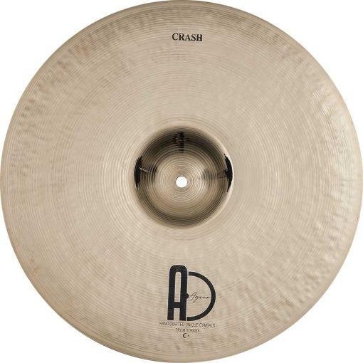 "Turkish Drum Cymbals Custom Brilliant Crash1 510x510 - AGEAN Cymbals 15"" Custom Brilliant Crash"
