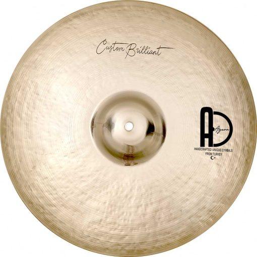 "Turkish Drum Cymbals Custom Brilliant Crash2 510x510 - AGEAN Cymbals 15"" Custom Brilliant Crash"