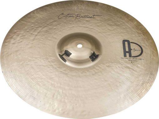 "Turkish Drum Cymbals Custom Brilliant Crash3 510x383 - AGEAN Cymbals 15"" Custom Brilliant Crash"