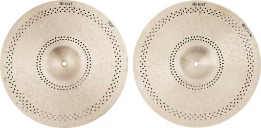 """Turkish Hi hat cymbals Hush Hush Hi hat 1 510x251 - AGEAN Cymbals 14"""" Hush Hush Hi-Hat"""
