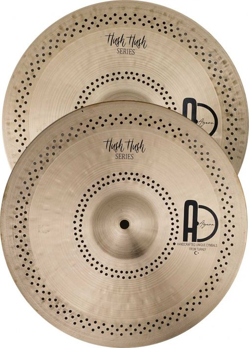 """Turkish Hi hat cymbals Hush Hush Hi hat 3 510x712 - AGEAN Cymbals 14"""" Hush Hush Hi-Hat"""