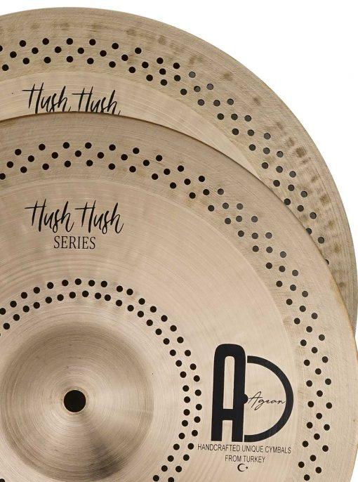 """Turkish Hi hat cymbals Hush Hush Hi hat 5 510x686 - AGEAN Cymbals 14"""" Hush Hush Hi-Hat"""