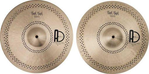 """Turkish Hi hat cymbals Hush Hush Hi hat 6 510x253 - AGEAN Cymbals 14"""" Hush Hush Hi-Hat"""