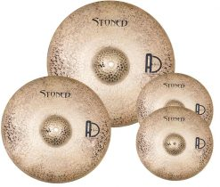 "cymbal packs Stoned Set 247x210 - Agean Cymbals STONED SET - 20"" Ride, 16"" Crash, 14"" Hi-Hat"