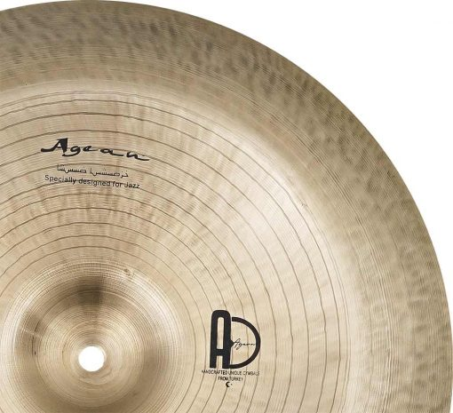 """cymbals for sal Special Jazz China 2 510x465 - AGEAN Cymbals 13"""" Special Jazz China"""