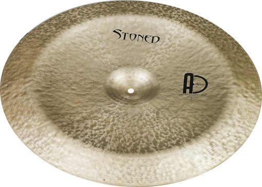 """drum china cymbal stoned china 3 510x365 - AGEAN Cymbals 13"""" Stoned China"""