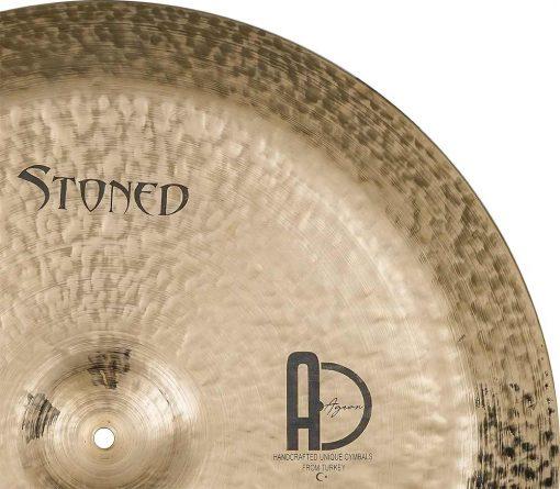 """drum china cymbal stoned china 4 510x445 - AGEAN Cymbals 14"""" Stoned China"""