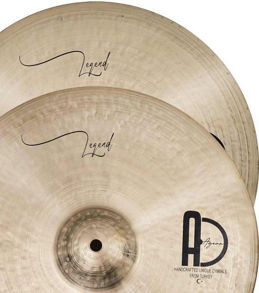 """hi hat cymbals istanbul legend hi hat 1 510x577 - AGEAN Cymbals 14"""" Legend Hi-Hat"""