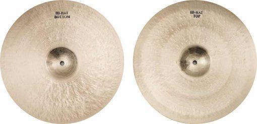 """hi hat cymbals istanbul legend hi hat 4 510x246 - AGEAN Cymbals 14"""" Legend Hi-Hat"""