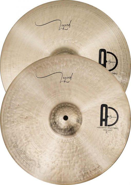"""hi hat cymbals istanbul legend hi hat 5 510x722 - AGEAN Cymbals 14"""" Legend Hi-Hat"""