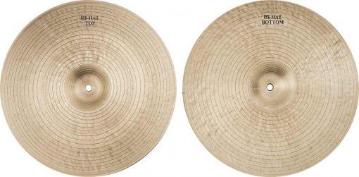 "jazz cymbals Special Jazz Hi hat 2 510x251 - AGEAN Cymbals 12"" Special Jazz Hi-Hat"