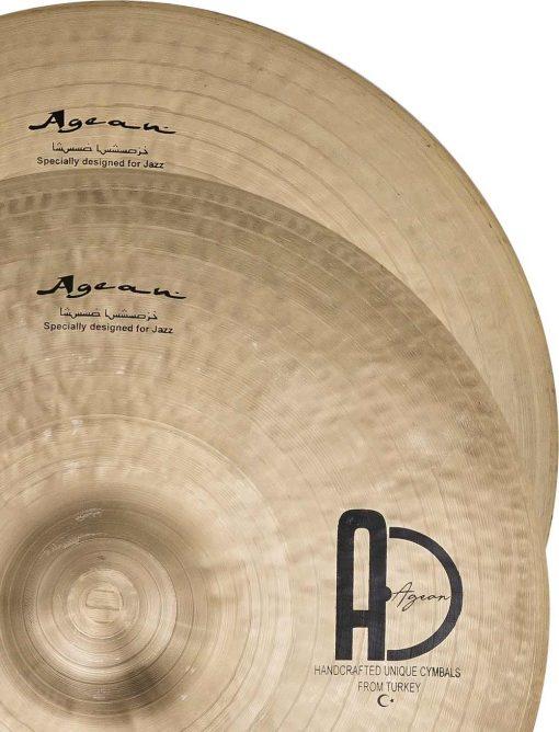 "jazz cymbals Special Jazz Hi hat 4 510x668 - AGEAN Cymbals 12"" Special Jazz Hi-Hat"