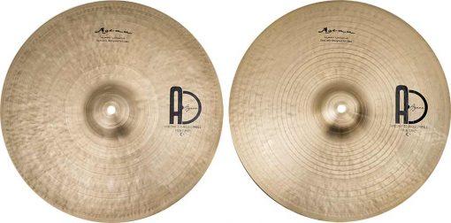 "jazz cymbals Special Jazz Hi hat 5 510x252 - AGEAN Cymbals 12"" Special Jazz Hi-Hat"