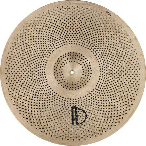 "low volume cymbals Natural R Ride 1 510x510 - AGEAN Cymbals 18"" Natural R Low Noise Ride"