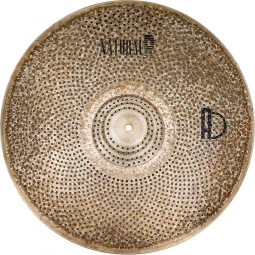 "low volume cymbals Natural R Ride 2 510x509 - AGEAN Cymbals 18"" Natural R Low Noise Ride"