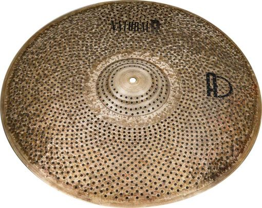"low volume cymbals Natural R Ride 4 510x406 - AGEAN Cymbals 18"" Natural R Low Noise Ride"