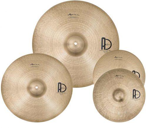 "turkish special Jazz Set 510x434 - Agean Cymbals  SPECIAL JAZZ SET - 20"" Ride, 16"" Crash, 14"" Hi-Hat"
