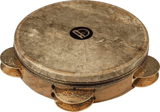 4 510x357 - Agean Pro Tunable Riq With Fish Skin And Hand Hammered Bells - 22 Cm