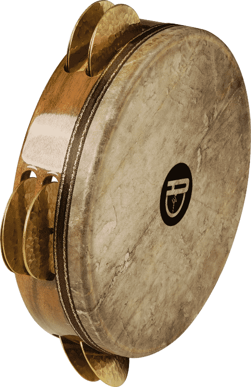 5 510x786 - Agean Pro Tunable Riq With Fish Skin And Hand Hammered Bells - 23 Cm