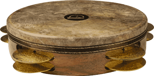 6 510x254 - Agean Pro Tunable Riq With Fish Skin And Hand Hammered Bells - 22 Cm