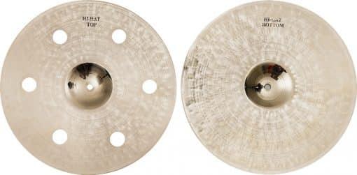"""Brx Hi hat 1 kopyasi 510x251 - Agean Cymbals 13"""" Brx Hi-hat"""