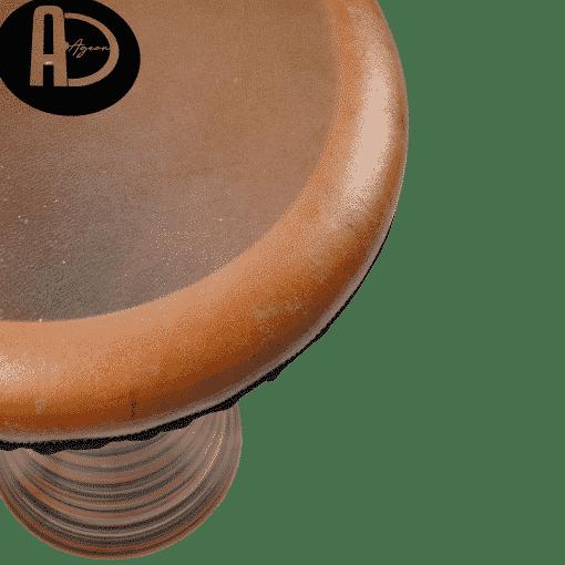 DSC03686 copy 510x510 - Agean Percussion Gobeklitepe Series Clay Bass Darbuka