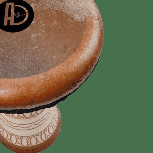 DSC03687 copy 510x510 - Agean Percussion Hittite Series Clay Bass Darbuka