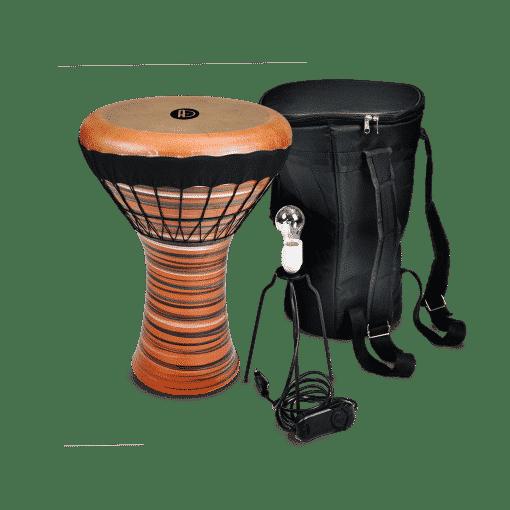 DSC03698 copy 510x510 - Agean Percussion Gobeklitepe Series Clay Bass Darbuka